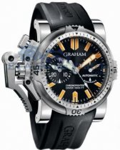 Graham Chronofighter Oversize Diver and Diver Date 20VES.B02B.K1