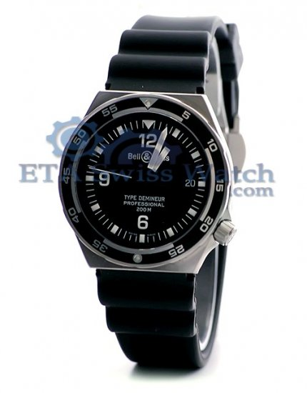 Bell et Ross Demineur Professional Type Collection Black