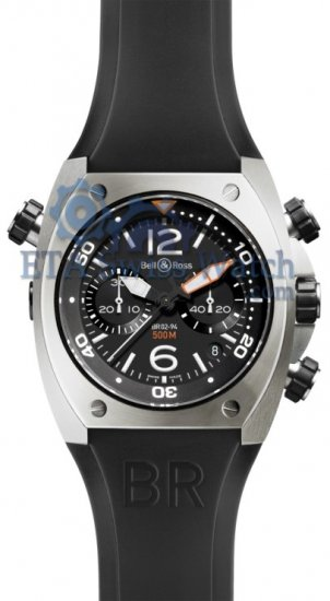 Bell & Ross BR02 Steel Chronograph