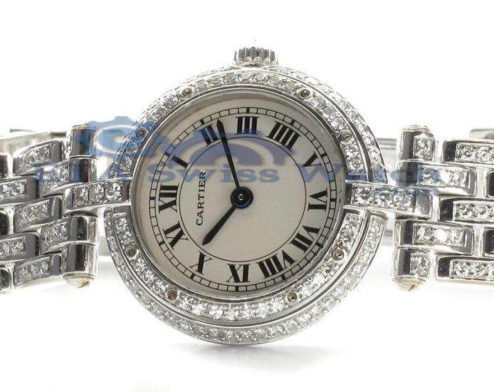 Cartier Santos Santos damas de diamantes