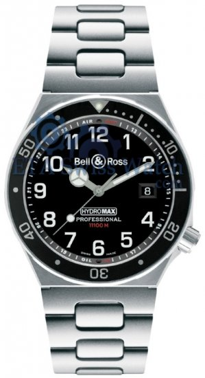 Bell y Ross Hydromax colección profesional Negro