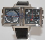 Jaeger Le Coultre Reverso Squadra World Chronograph 702T470
