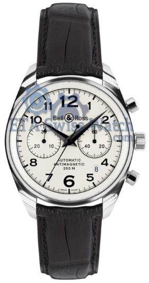 Bell y Ross Vintage 126 Ginebra Blanco