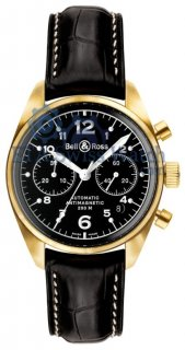 Bell & Ross Vintage 126 Gold Black