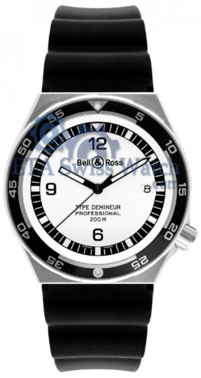 Bell and Ross Professional Collection Type Demineur White