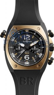 Bell and Ross BR02 Chronograph Pink Gold