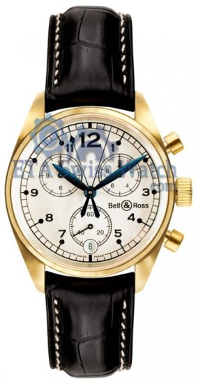 Bell y Ross Vintage 120 oro blanco