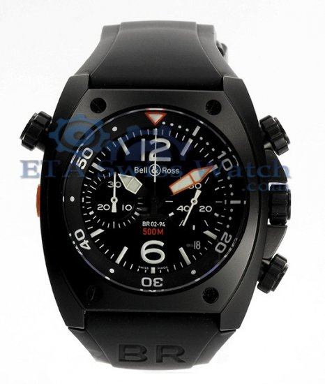 Bell & Ross BR02 Chronograph Carbon
