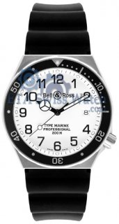Bell and Ross Professional Collection Type Marine White