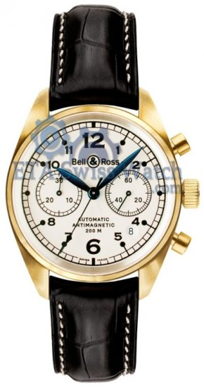 Bell & Ross Vintage 126 Gold Pearl