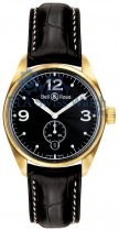 Bell & Ross Vintage 123 Gold Black
