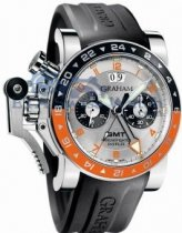 Graham Chronofighter Oversize Big 2OVASGMT.S01A.K10B GMT Data
