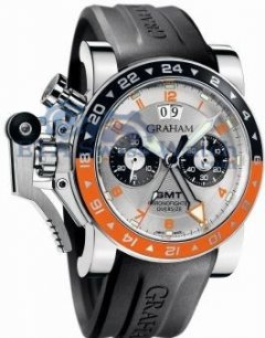 Graham Chronofighter Oversize 2OVASGMT.S01A.K10B GMT Big Date