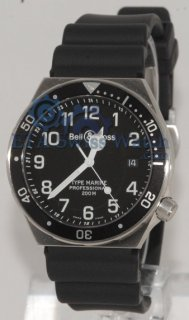 Bell & Ross Collection Professional Typ Black Marine