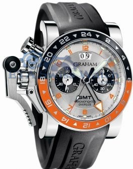 Graham Chronofighter Oversize 2OVASGMT.S01A.K10B Grandes GMT Fec