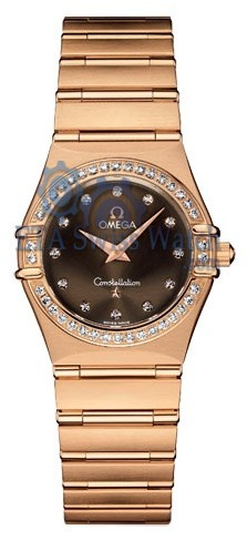 Mesdames Omega Constellation petites 1158.60.00