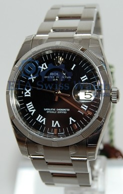 Rolex Oyster Perpetual Date 115210 - Click Image to Close